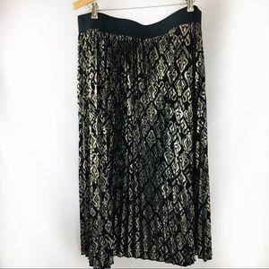 Lularoe Jill  Pleated Skirt Elegant Collection